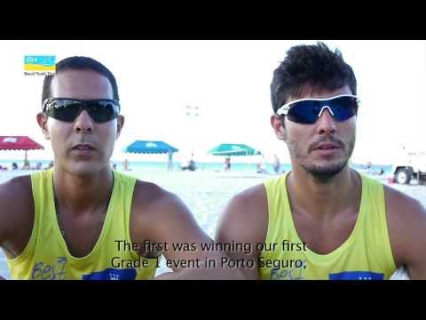 Thales Santos and Marcus Ferreira: Beach Tennis interview