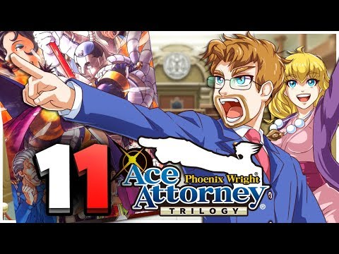 Phoenix Wright: Ace Attorney Trilogy HD Part 11 Cody Testimony Turnabout Samurai Trial (Switch)