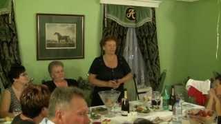 Юбилей женщине 70 лет. Поющий тамада Юрий Кузнецов отзывы. Сайт tamada5.ru тел. 8 903 149 00 35.
