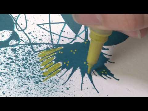 Introducing Derwent Graphik Line Painter Pens