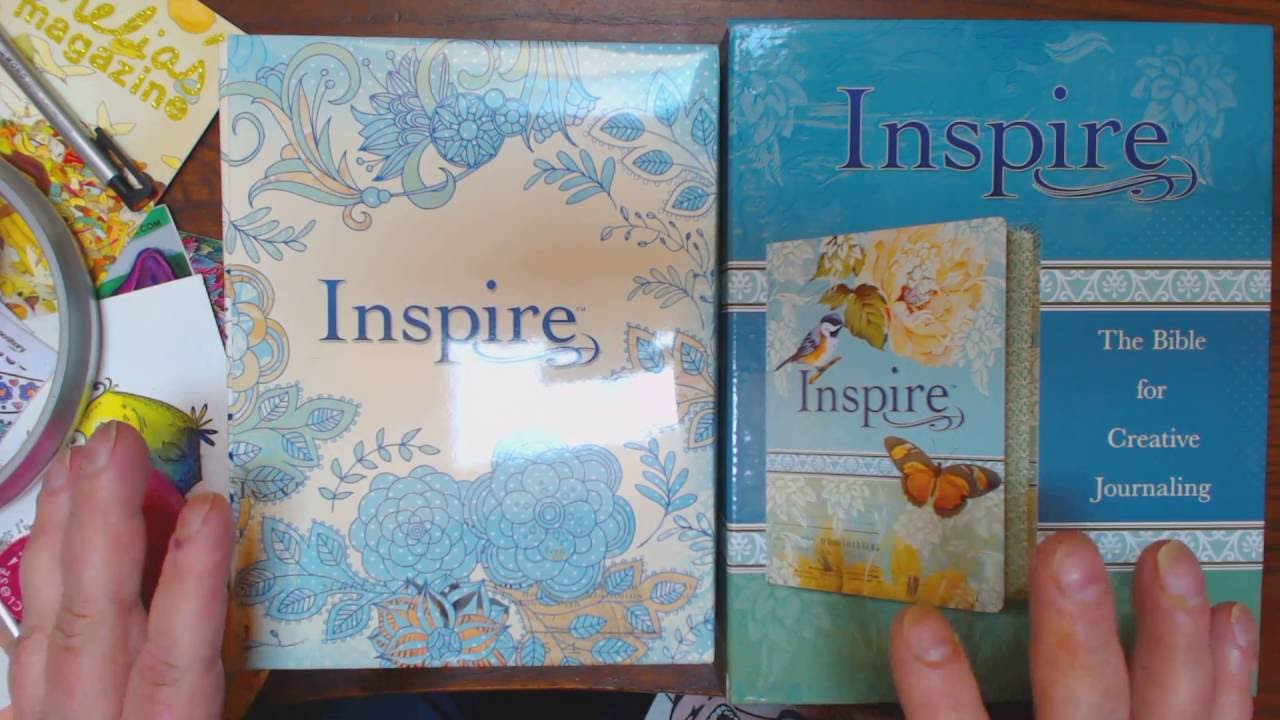 It is a photo of Unforgettable Inspire Coloring Bible