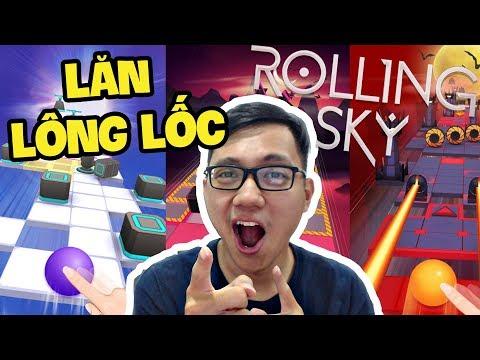 BÓNG TRÒN LĂN LÔNG LỐC! - Rolling Sky (Sơn Đù Funny Moments)