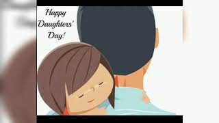 Happy daughters day 2020|Daughter's day love status for whatsapp|Daughter's day status TERI LAADKI M