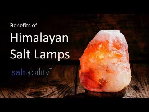 Benefits of Himalayan Salt Lamps from Saltability