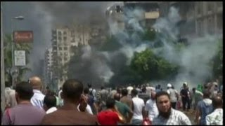 Violent Unrest on Egypt's Streets: Raw Video