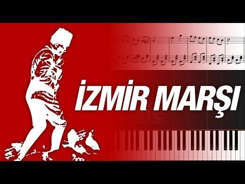 İzmir Marşı [Piyano]+[Nota]+[Karaoke]