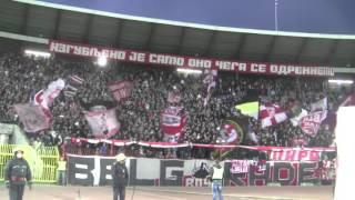 delije i firma zajedno pevaju kosovo srbija  crvena zvezda vojvodina 3 0