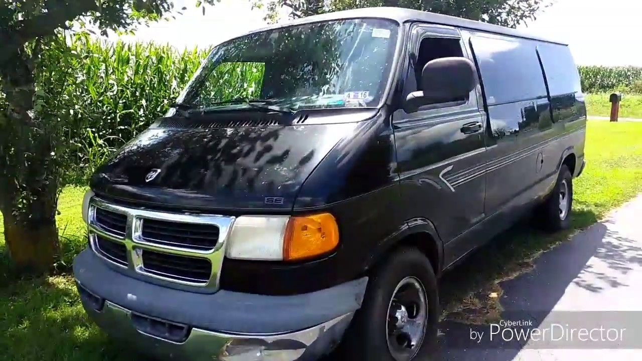 Dodge Conversion Van >> 1999 Dodge Ram Van Camper Conversion