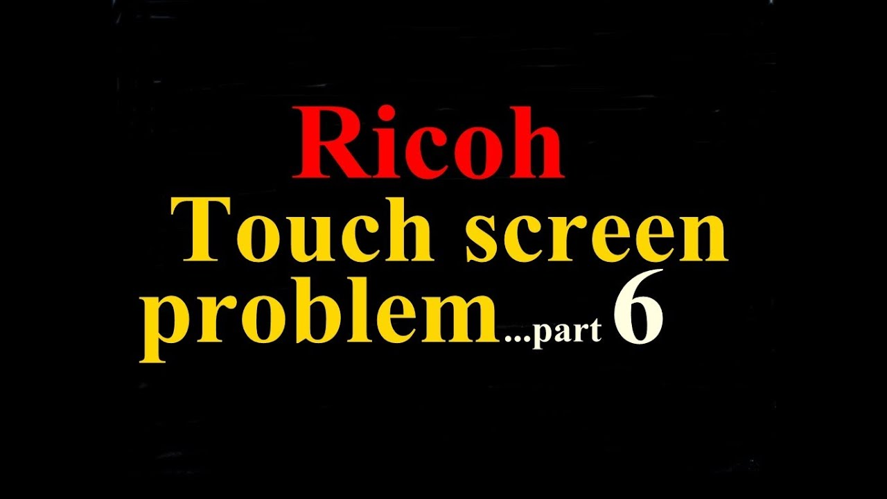 SOLVED: Sc819 trouble/error in ricoh aficio mp5000  any - Fixya