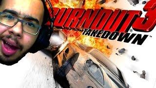 BURNOUT 3 TAKEDOWN - O MELHOR DE TODOS!