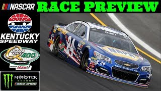 Previewing the 2018 Quaker State 400 at KENTUCKY SPEEDWAY