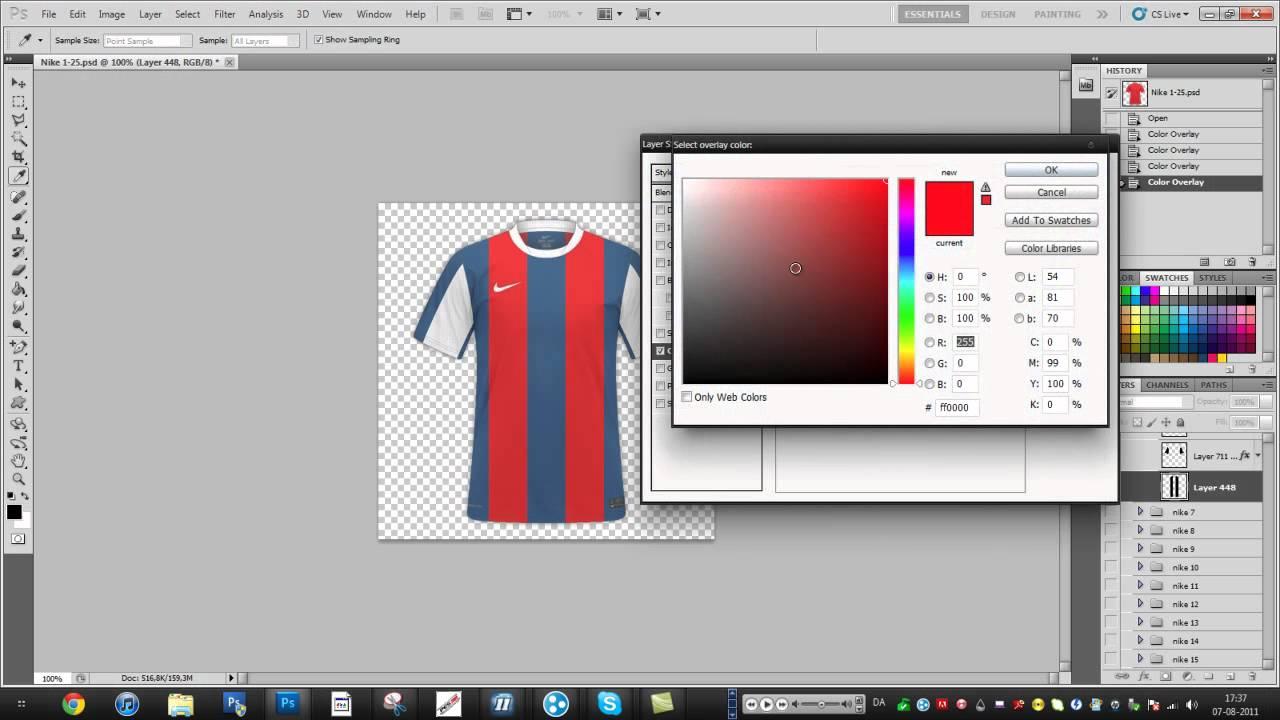 Football jersey maker software