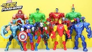 New BEST of Marvel Super Hero Mashers Adventures Part 2