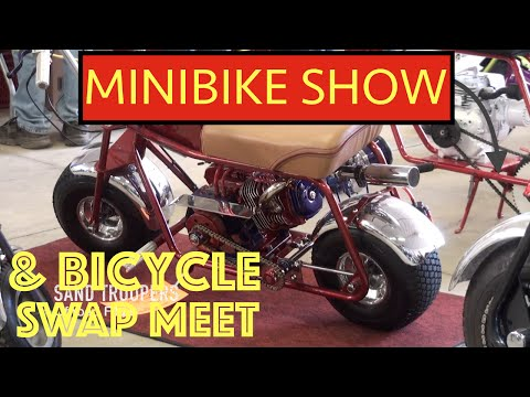 """MINIBIKE SHOW & BICYCLE SWAP MEET"" Saline Michigan 2015"