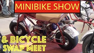 """MINIBIKE SHOW & BICYCLE SWAP MEET"" Saline Michigan 2015"