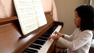 6歳 ピアノ歴1年11ヶ月.