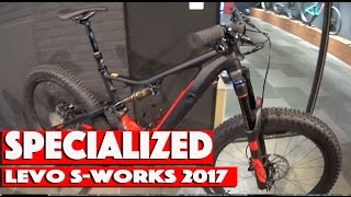 Specialized Levo S-works 2017 best E-bike Hightec first look