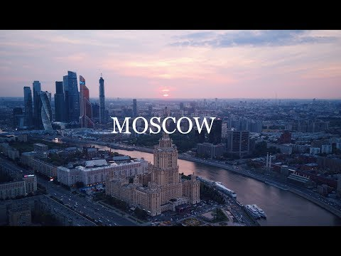 MOSCOW AERIAL DRONE 4K. МОСКВА АЭРОСЪЕМКА
