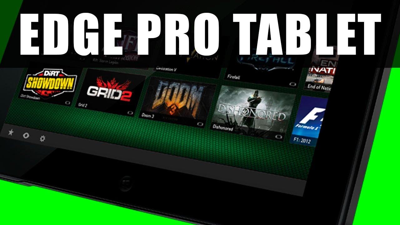 Razer Edge Pro Gaming Tablet Review Youtube