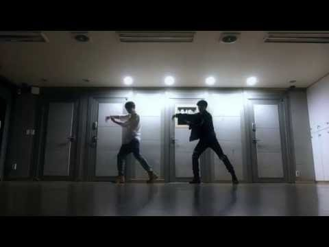 Dance practice - JK & JM ('Own it' choreography by Brian puspose)