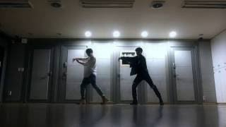 [CHOREOGRAPHY] BTS (방탄소년단) 정국이랑 지민이 ('Own it' choreography by Brian puspose) Dance practice
