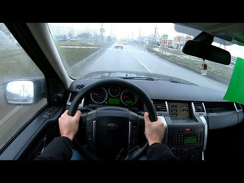 2007 Land Rover Range Rover Sport 4.2L (390) Supercharged POV TEST DRIVE