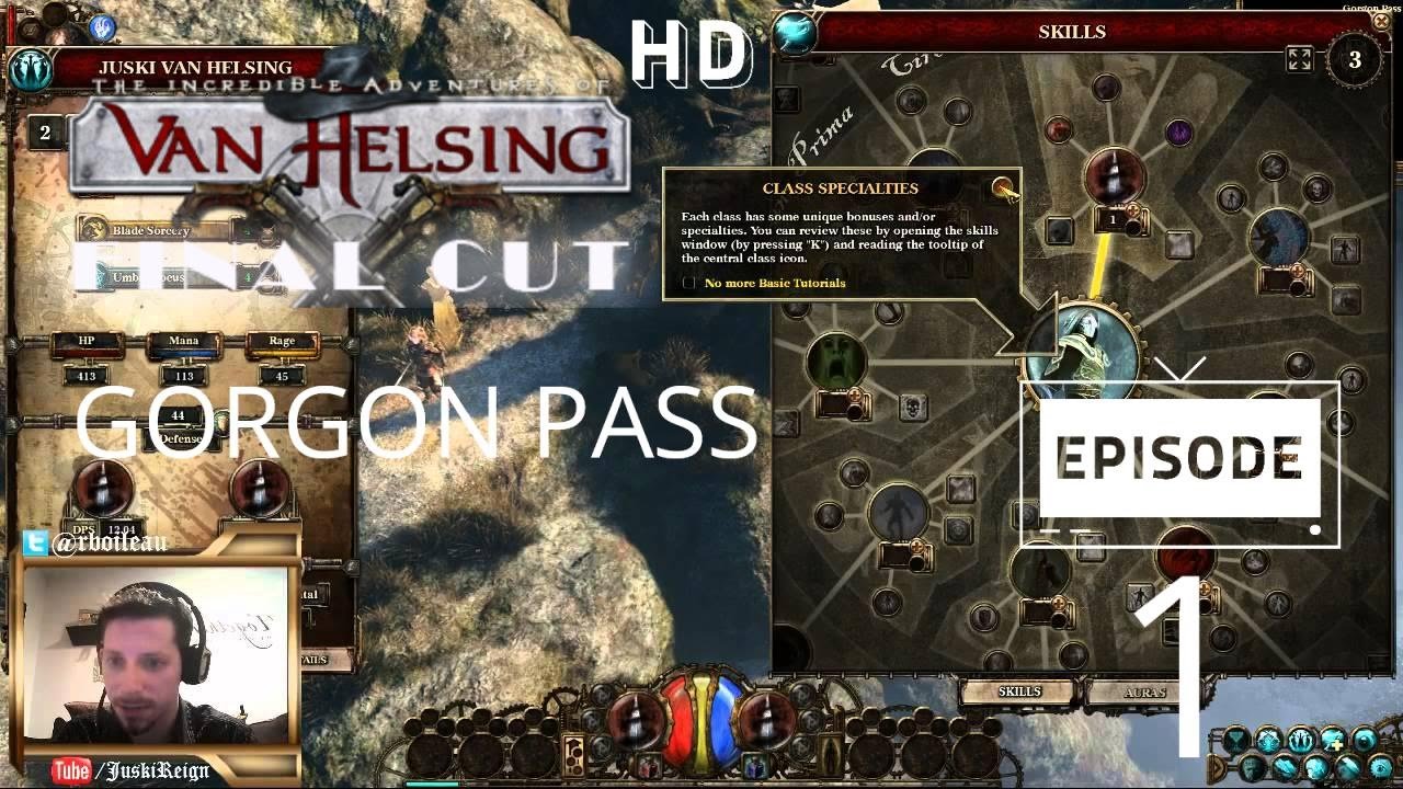 Adventures Of Van Helsing Final Cut the incredible adventures of van helsing: final cut - gorgon pass