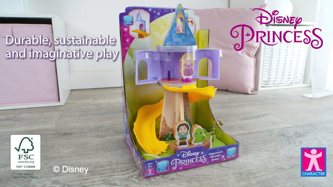 Disney Princess Rapunzel's Wooden Tower