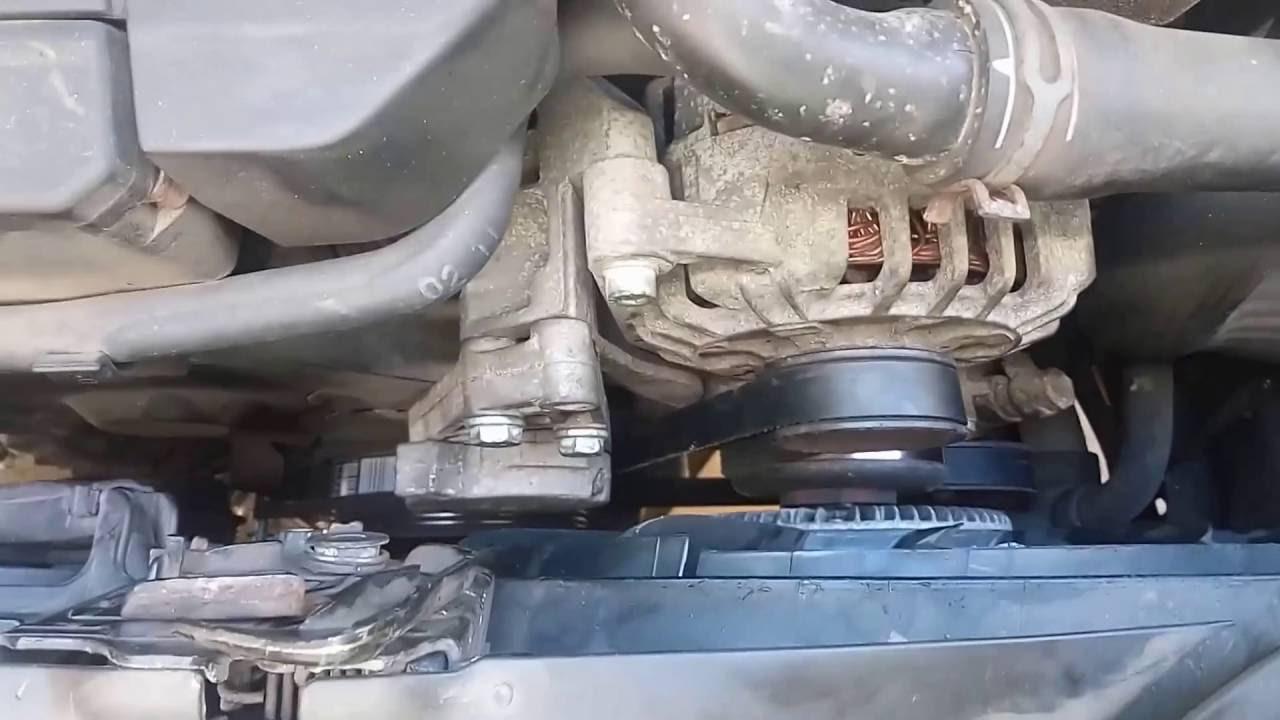 2002 Vw Passat Exhaust System Diagram Johnson Ignition Switch Wiring Volkswagen Serpentine Belt Replacement Youtube