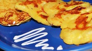 Необычные блинчики с яблоками. Домашние рецепты.