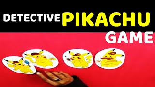 Origami Fun Game l Detective Pikachu Fun Games l Fun Games You Should Try To Do At Home