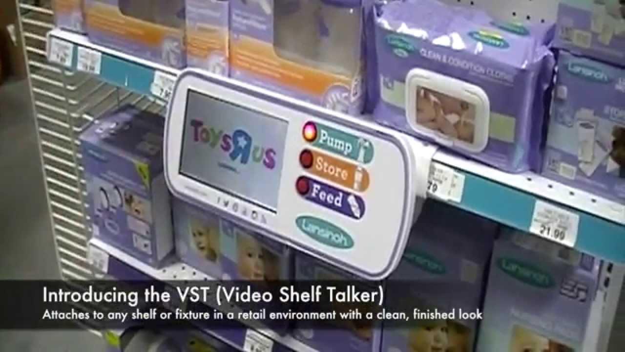 The Display Connection Video Shelf Talker Vst Youtube