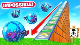 IMPOSSIBLE Baller OBSTACLE COURSE in Fortnite!