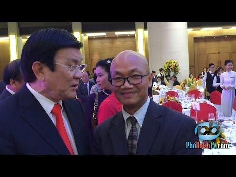 Hai ngày, hai lần gặp Chủ tịch Nhà nước Việt Nam Trương Tấn Sang