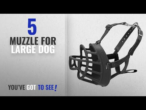 Top 5 Muzzle For Large Dog [2018 Best Sellers]: Baskerville Ultra Basket Dog Muzzle – The Company