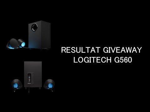 Résultat Giveaway Logitech G560