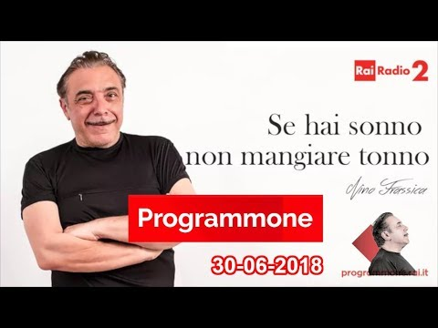 NINO FRASSICA - PROGRAMMONE - 30-06-2018