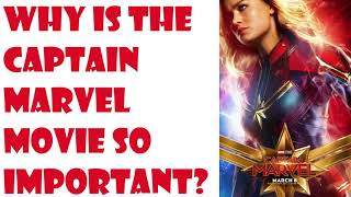 Will the Captain Marvel movie prove to be the last nail in the coffin for good comic stories?