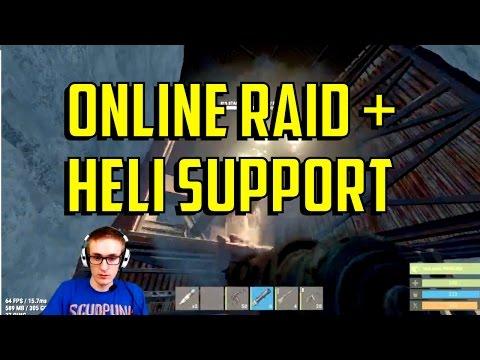 Rust | Online Raid w/ Heli Support