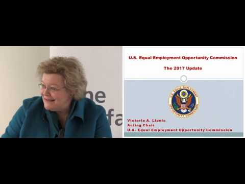 EEOC Acting Chair Victoria Lipnic's Speech February 9, 2017