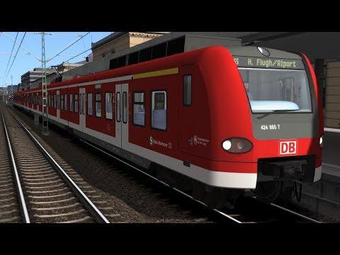 TS 2017 Gameplay | S5 nach Hannover Flughafen | BR 424 | feat. HamburgLetsPlayTV