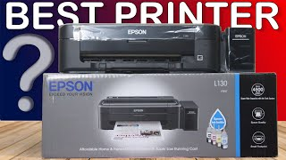 EPSON L130 Ink Tank Colour Printer Unboxing Single-Function Color Printer Dekh Review Hindi