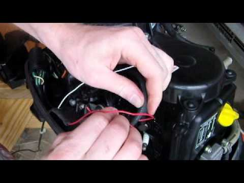 How to use a Tiny Tach on a small outboard engine YouTube – Johnson Outboard Motor Tachometer Wiring