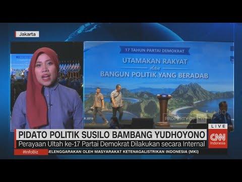 Live Report: Pidato Politik SBY di HUT ke-17 Partai Demokrat
