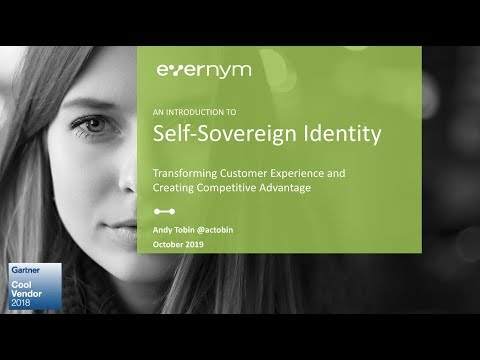 An Introduction to Self-Sovereign Identity
