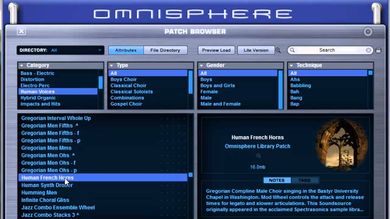 Spectrasonics Omnisphere traditional acoustic sounds - SoundsAndGear