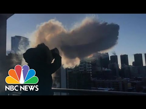 Chicago Residents Capture Strange Results Of Record Low Temperatures | NBC News