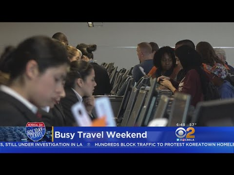 Freeways, Airports Will Be Busy Kicking Off Memorial Day Holiday
