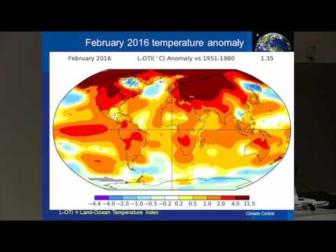 Climate Change: The global carbon experiment