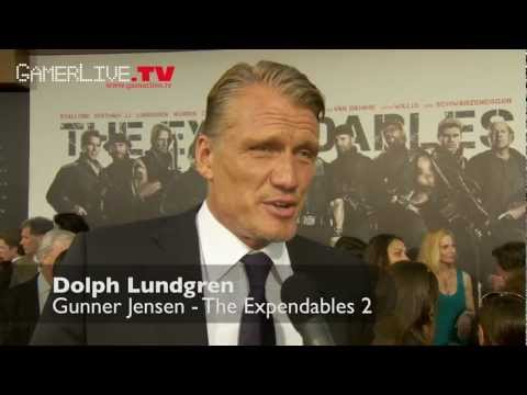 The Expendables 2 Interviews - Arnold Schwarzenegger, Jason Statham, Chuck Norris & more
